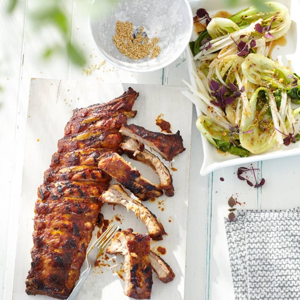 Pak-choi-Salat Rezept