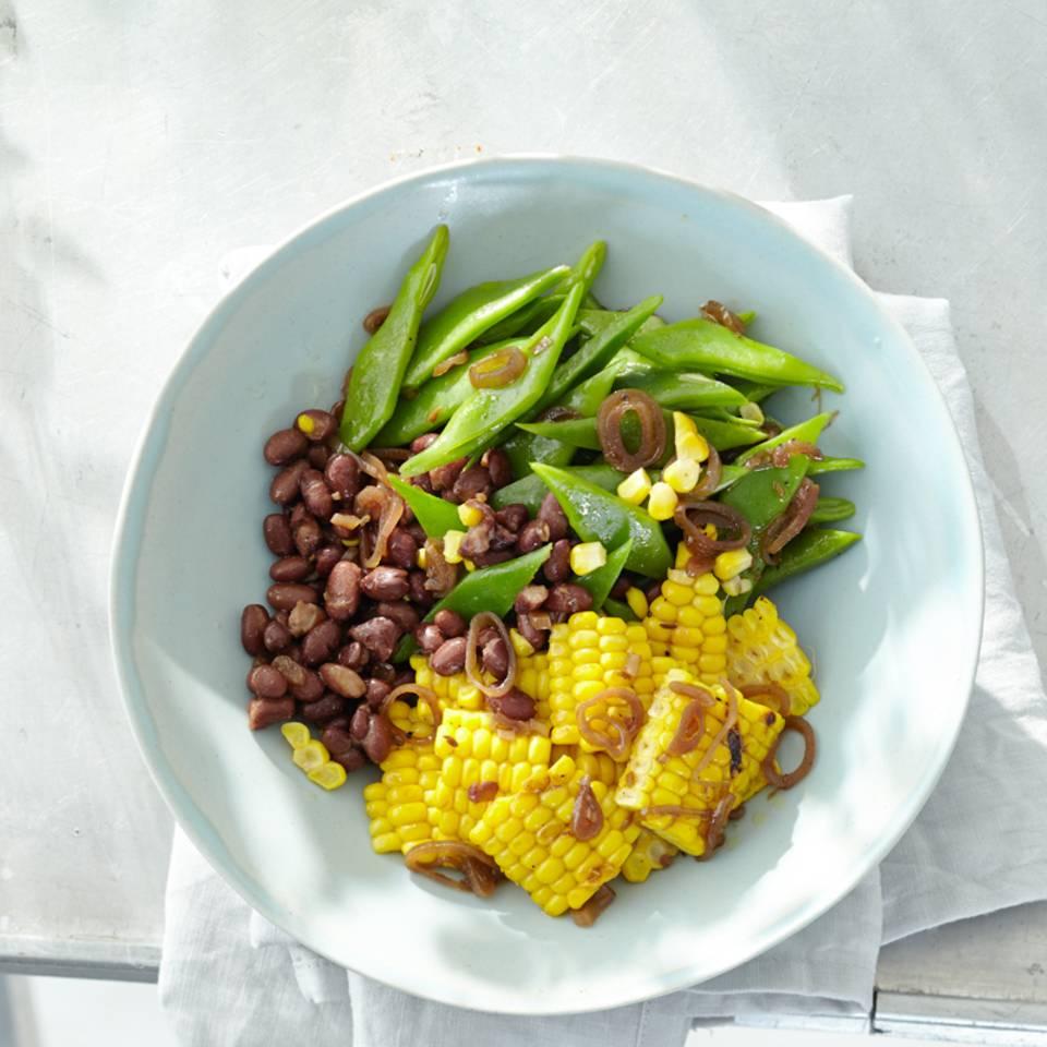 Bohnen-Mais-Salat Rezept
