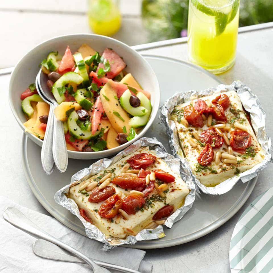 Feta mit Tomaten Rezept