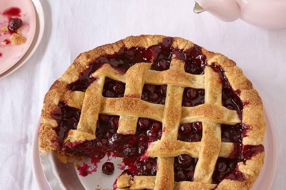 Blueberry Pie Rezept