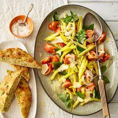 Wachsbohnensalat mit Tomaten