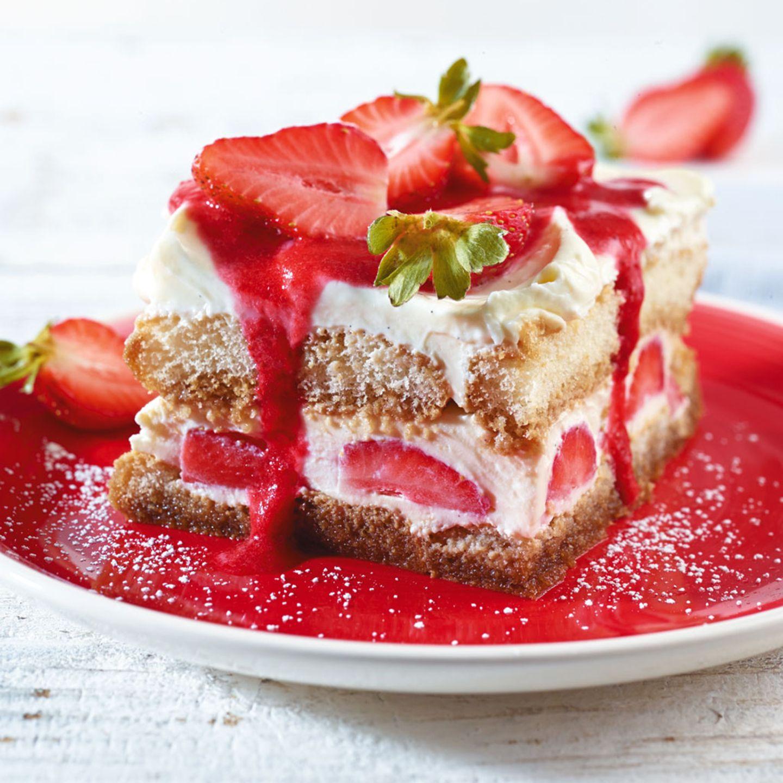 Erdbeeren zum Nachtisch