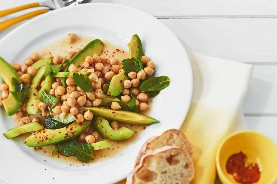 Kichererbsen-Avocado-Salat Rezept