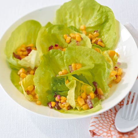 Salat mit Mais-Vinaigrette