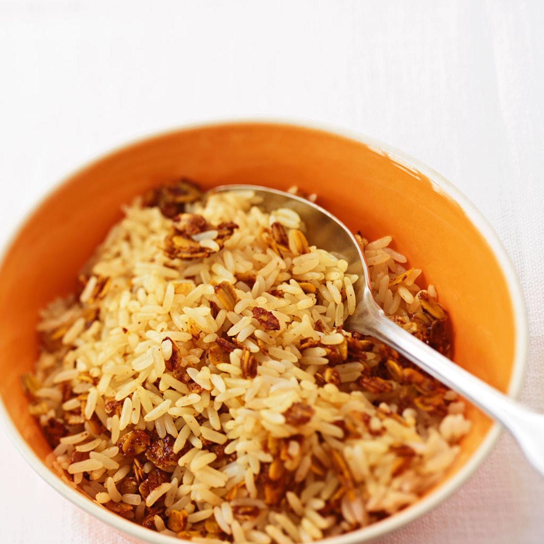 Haferflocken-Reis