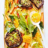 Gemüsesalat mit Portobello