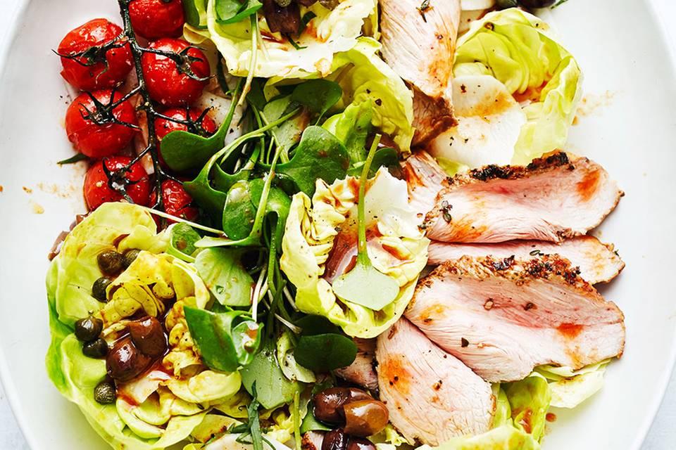 Kopfsalat mit Tafelspitz Rezept