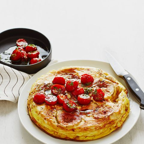 Ziegenkäse-Omelette mit Feigen