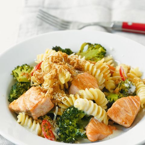 Broccoli-Lachs-Pasta