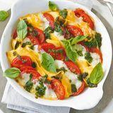 Tomaten-Mozzarella-Gratin
