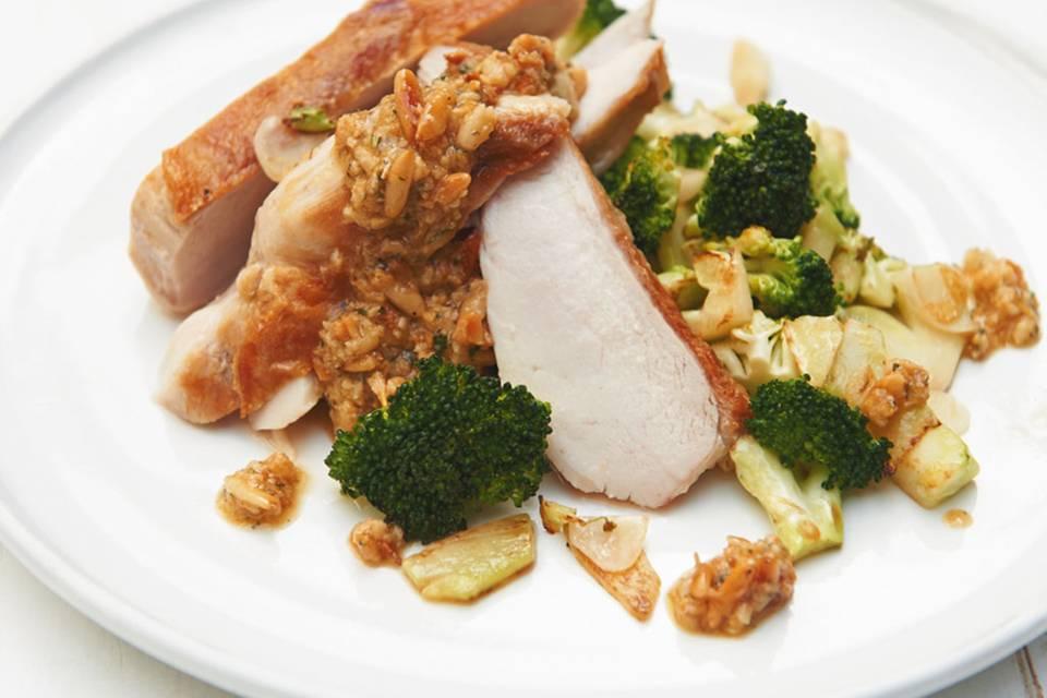 Hähnchenbrust mit Broccoli Rezept