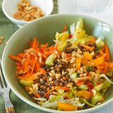 Gemüse-Linsen-Salat