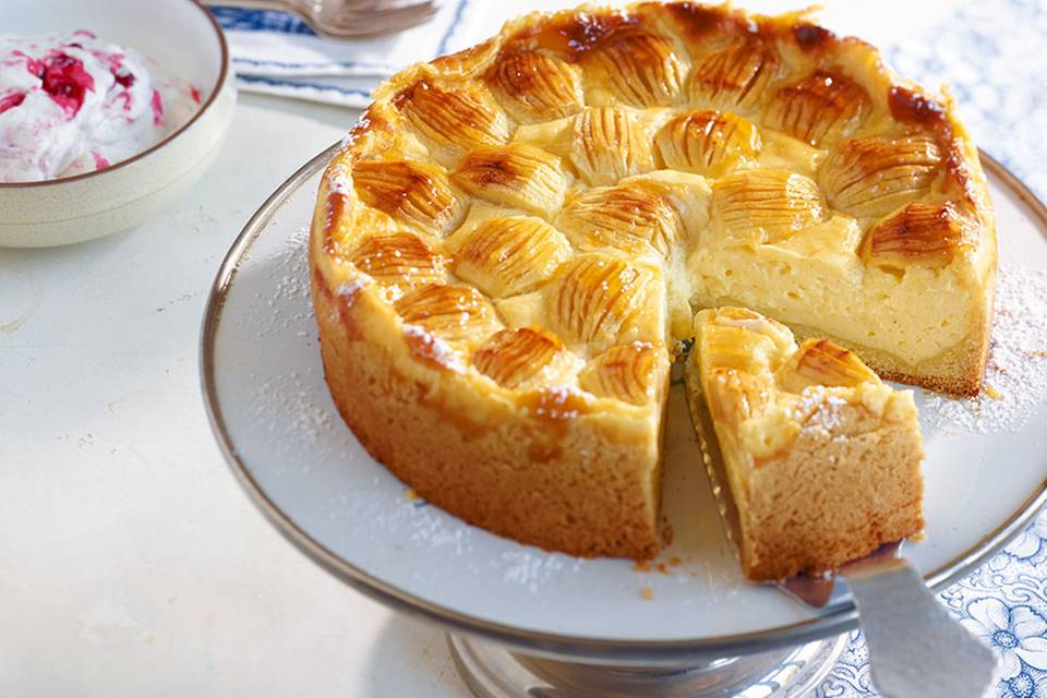 Apfel-Schmand-Kuchen Rezept