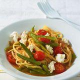 Bohnen-Tomaten-Pasta
