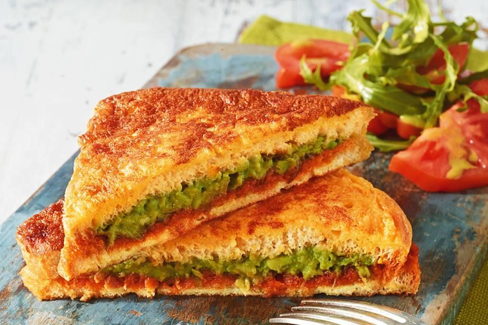 Avocado-French-Toast Rezept
