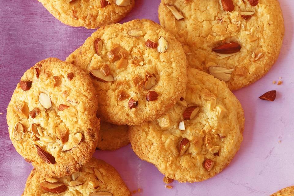 Weiße Schoko-Kokos-Cookies Rezept