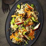 Sauerkraut-Linsen-Salat
