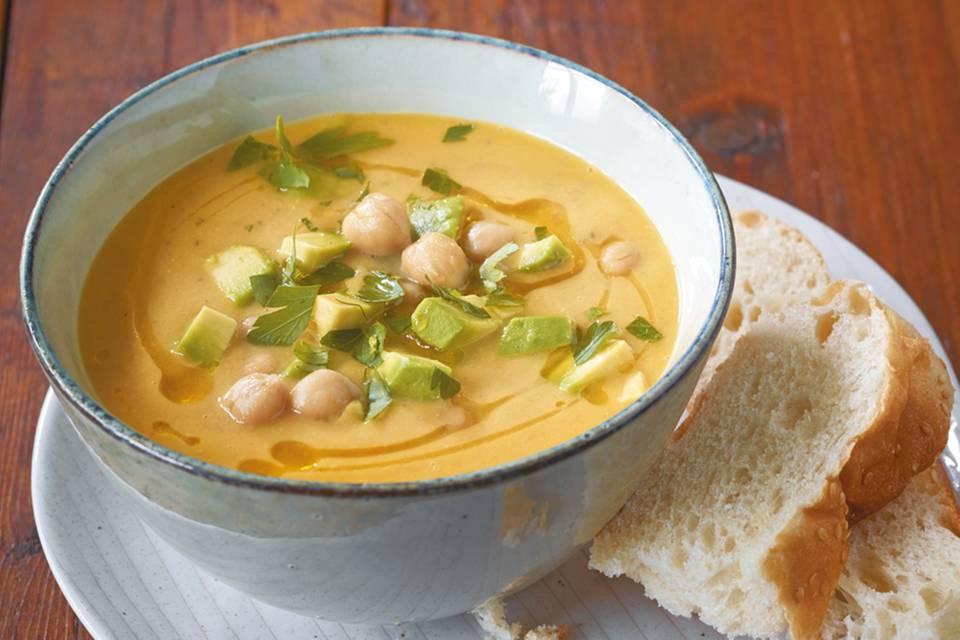 Kichererbsen-Möhren-Suppe Rezept