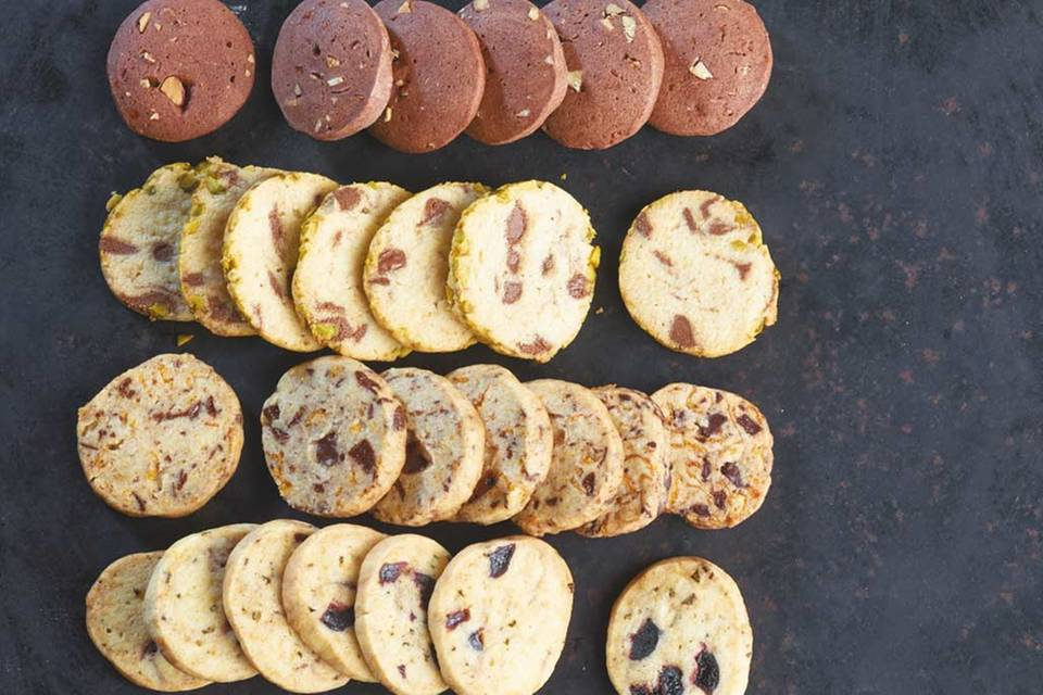 Marzipan-Nougat-Kekse Rezept