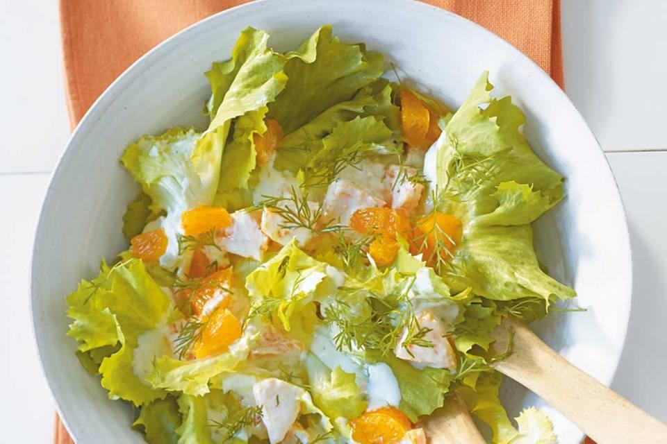 Endiviensalat mit Orangen Rezept