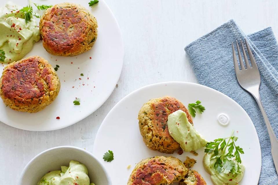 Koriander-Falafel Rezept