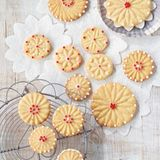 Marzipan-Rosmarin-Kekse