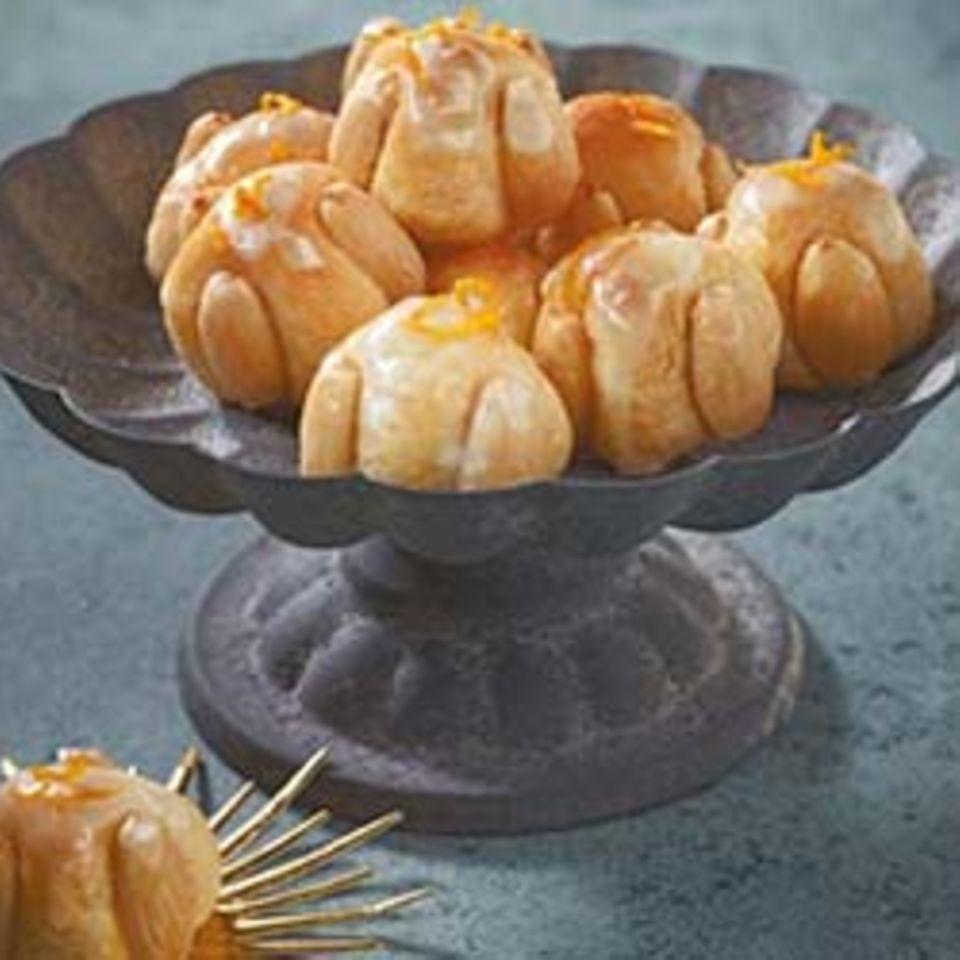 Orangen-Kokos-Männchen