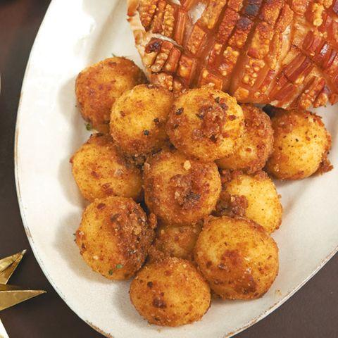 Kartoffelklösse mit Lebkuchenbröseln
