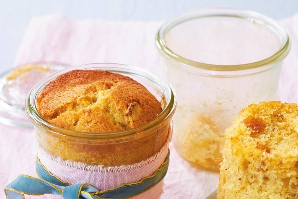 Mais-Mandel-Kuchen im Glas Rezept
