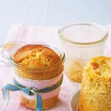 Mais-Mandel-Kuchen im Glas