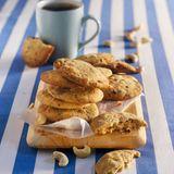 Schoko-Cashew-Cookies