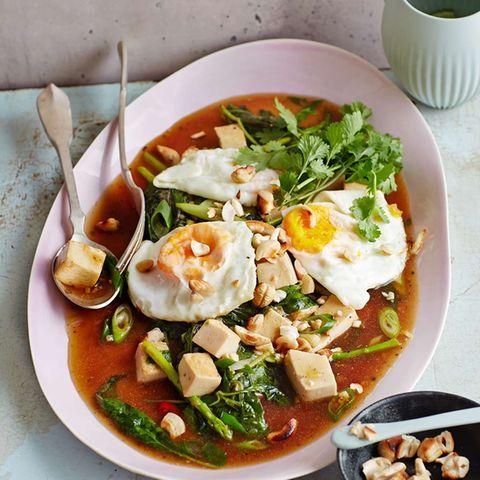 Tofu-Pfanne mit Holy Basil