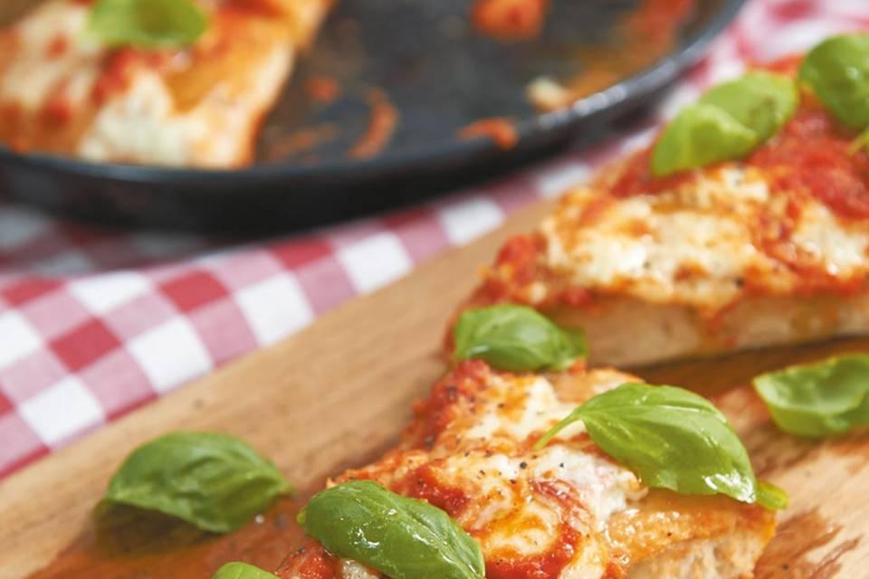 Deep Pan Pizza Rezept