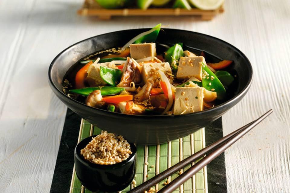 Asia-Topf mit Gemüse Rezept