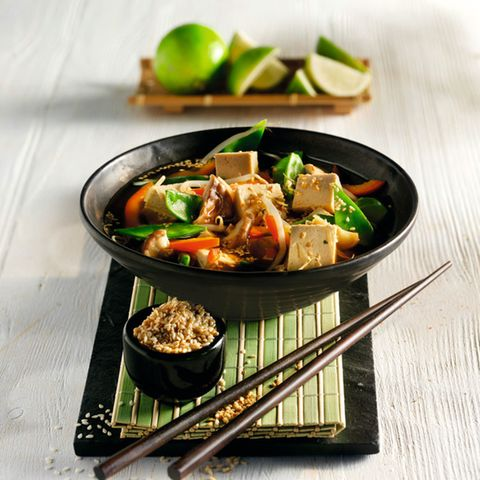 Asia-Topf mit Gemüse