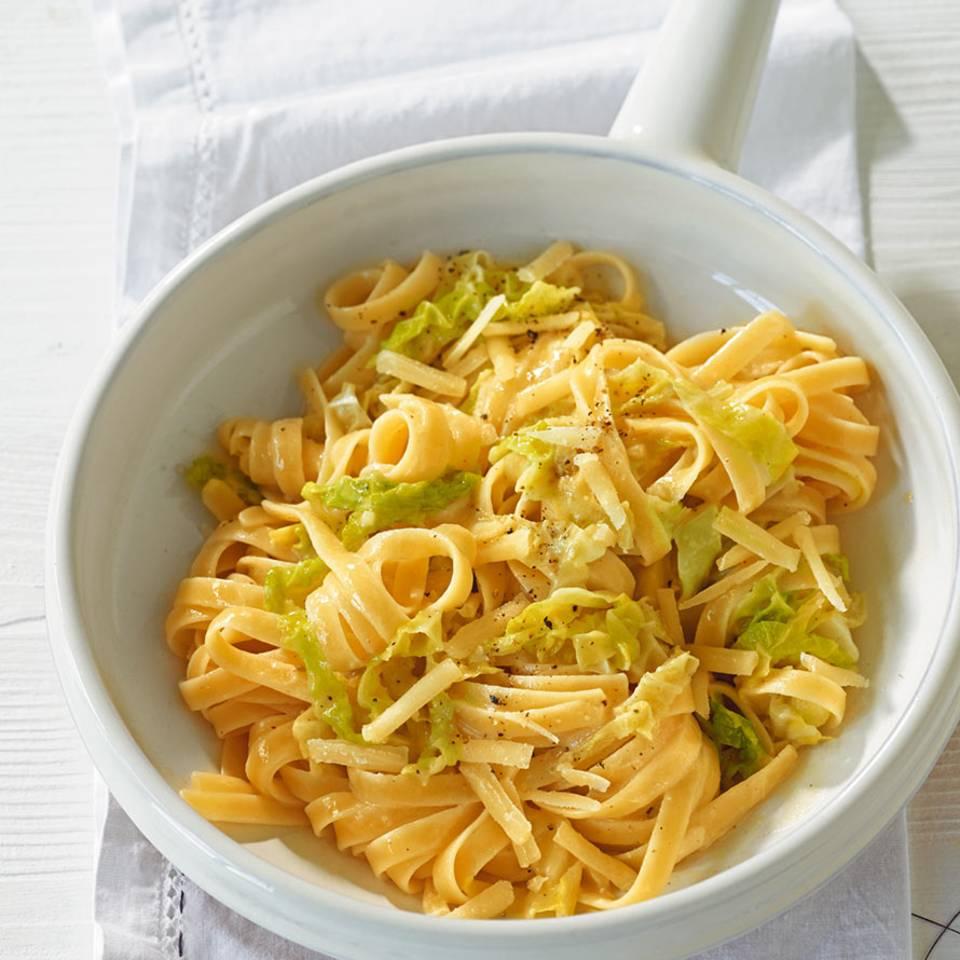 Wirsing-Pasta Rezept
