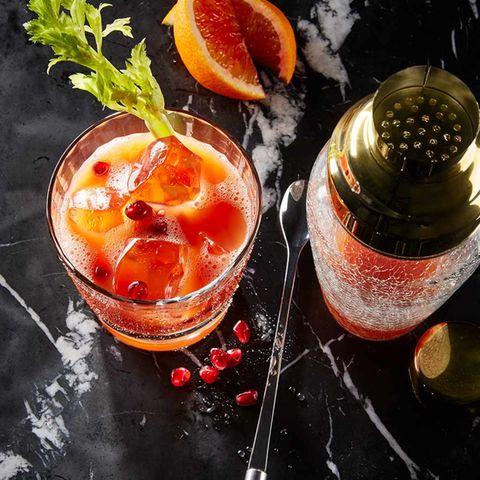 Blutorangen-Cocktail