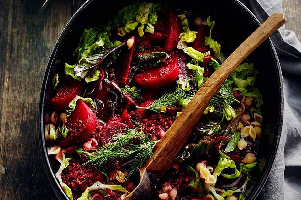 Rote-Bete-Eintopf mit Hackfleisch und Dill Rezept