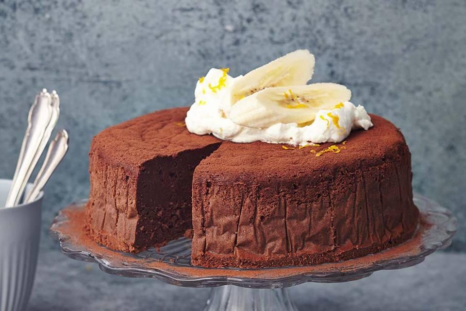 Bananen-Schoko-Mousse-Kuchen Rezept