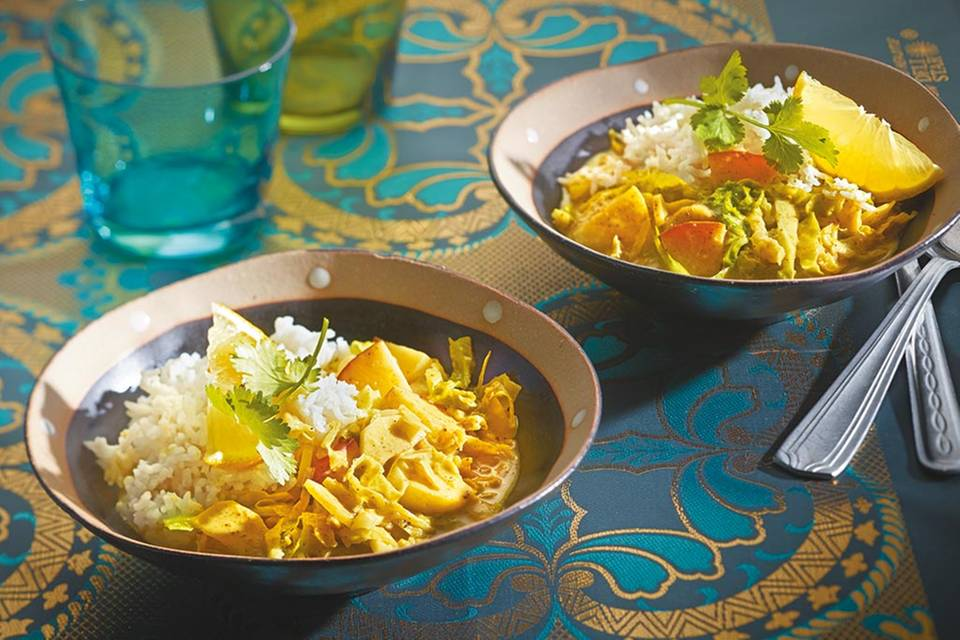 Vegetarisches Curry Rezept