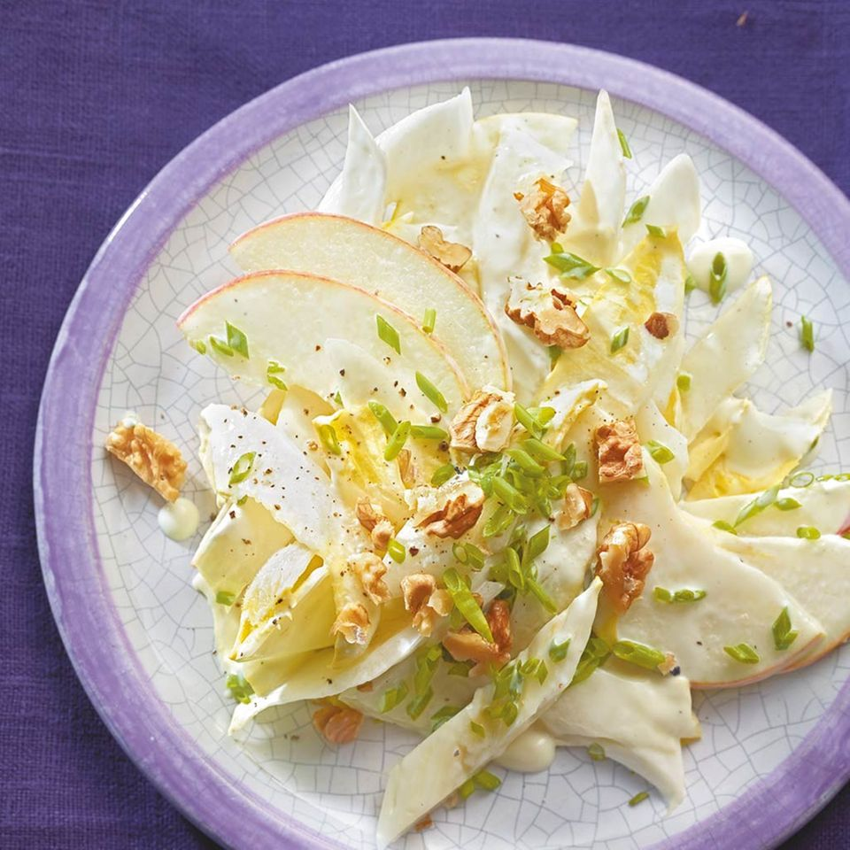 Chicorée-Waldorf-Salat