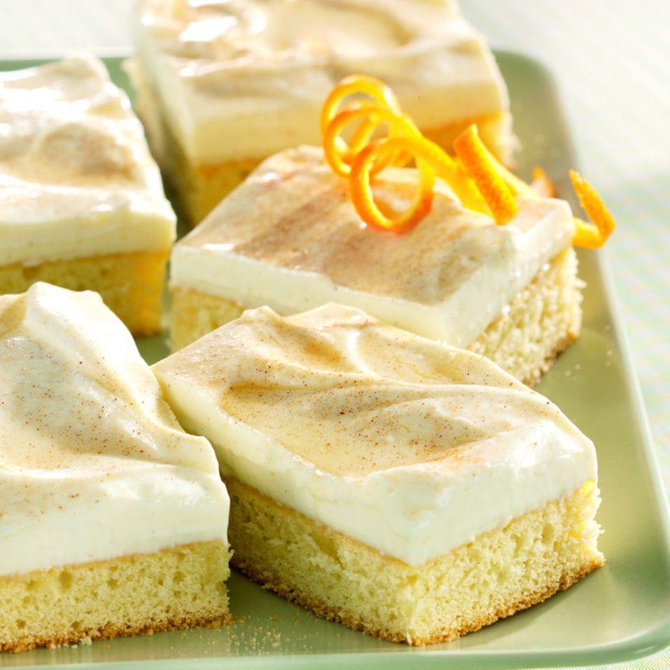 Limonadenkuchen mit Zimtzucker
