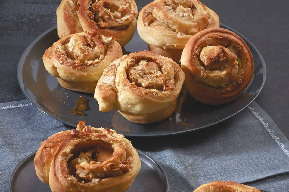 Apfel-Hefe-Muffins Rezept