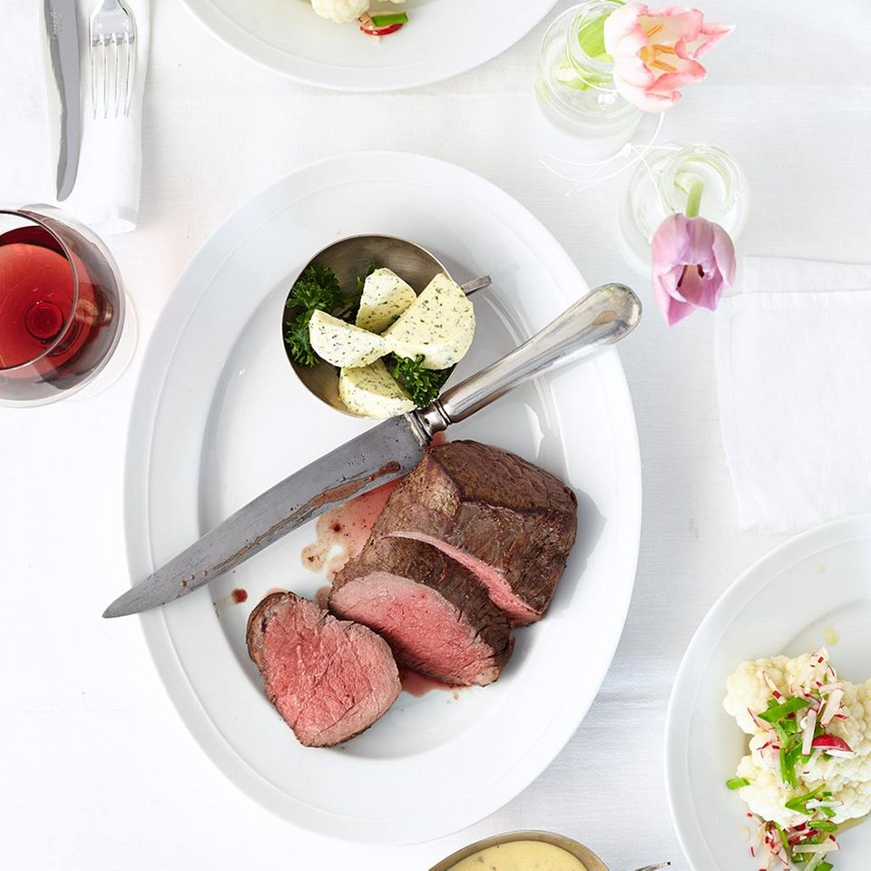 Chateaubriand mit Morchel-Hollandaise