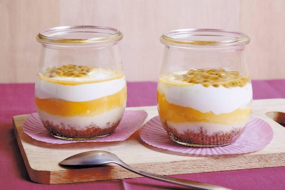 Cheesecake im Glas Rezept