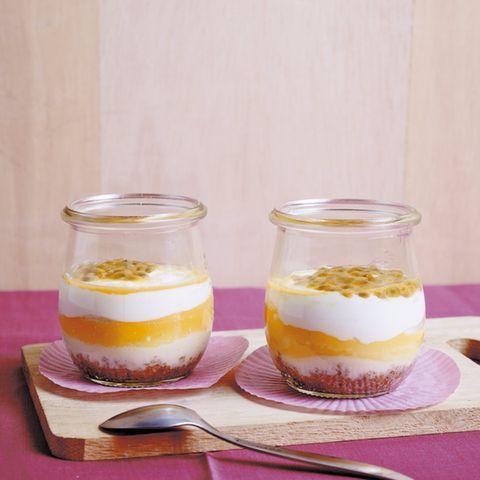 Cheesecake im Glas