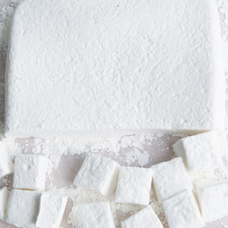 Vanille-Marshmallow-Würfel
