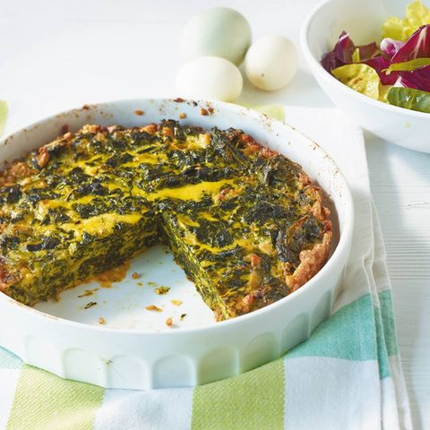 Spinat-Parmesan-Frittata