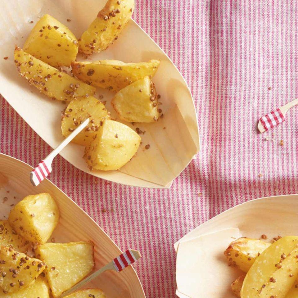 Korianderkartoffeln