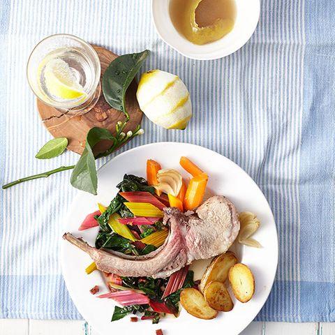 Ibérico-Karree (Chuleta de ibérico) aus dem Ofen